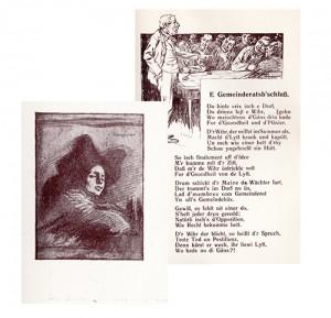Poème et gravure, G. Stoskopf